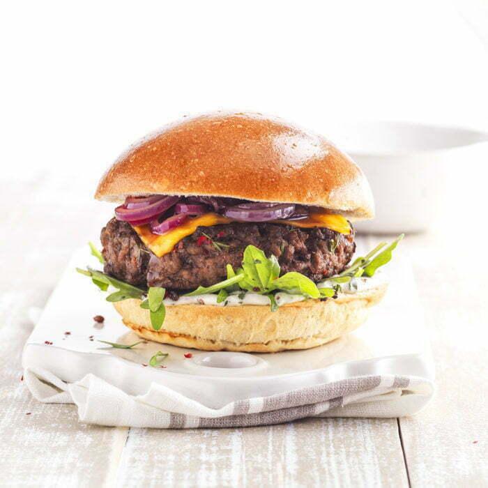 gourmet brioche burger buns l'Angelus