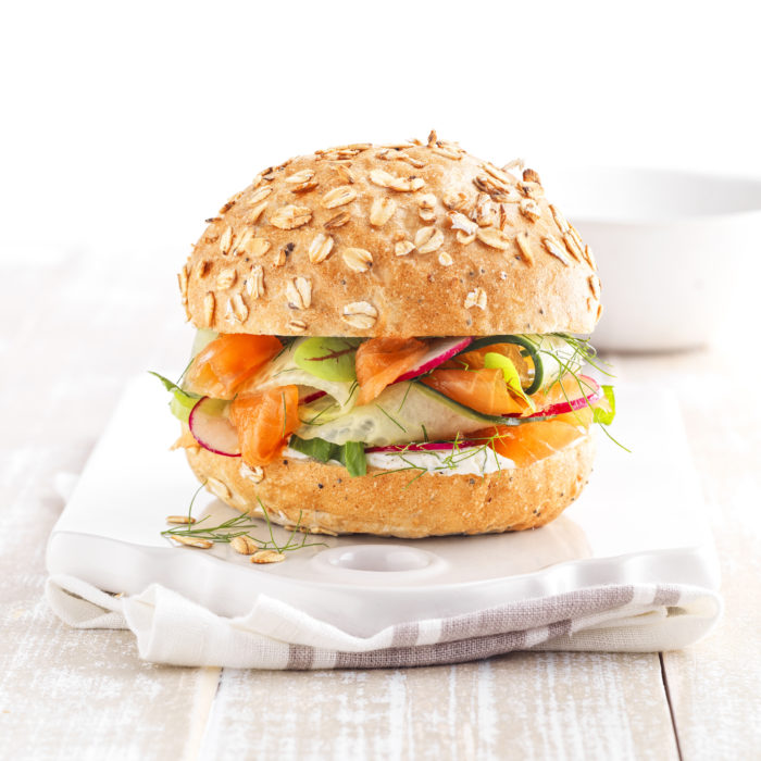 five seed burger buns without added sugars